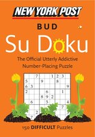 New York Post Bud Su Doku (Difficult)
