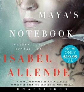 Maya's Notebook Unabridged Low Price Cd