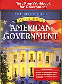 American Government: Test Prep Workbook For Government