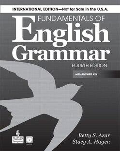 FUNDAMENTALS ENG. GRAMMAR   4E: BOOK W/AK & CD  INTL