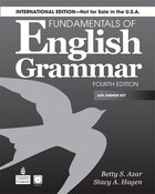 FUNDAMENTALS ENG. GRAMMAR   4E: BOOK W/AK & CD  INTL