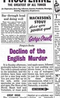 Great Ideas Decline Of The English Murder