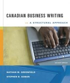 Cdn Ed Business Writing: A Structural Approach