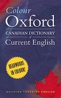 Colour Oxford Canadian Dictionary of Current English