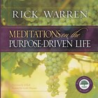 Meditations On Purpose Driven Life