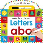 Wipe Clean Letters: Special Pen With 28 Easy Wipe Clean Pages