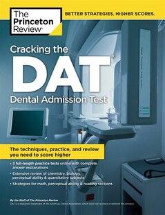 Cracking The Dat (dental Admission Test)