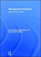 Management Research: Applying The Principles
