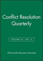 Conflict Resolution Quarterly, No. 4