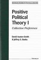 Positive Political Theory I: Collective Preference