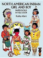North American Indian Girl and Boy Paper Dolls