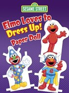 Sesame Street Elmo Loves to Dress Up! Paper Doll