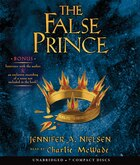 The False Prince: The Ascendance Trilogy, Book One (Audio Book)