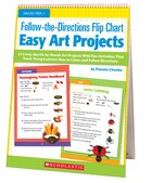Follow-the-Directions Flip Chart: Easy Art Projects