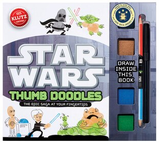 Star Wars Thumb Doodles: The Epic Saga at Your Fingertips