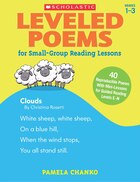 Leveled Poems for Small-Group Reading Lessons: 40 Just-Right Poems for Guided Reading Levels E-N With Mini-Lessons That Teach