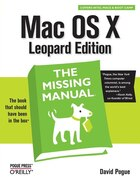 Mac OS X Leopard: The Missing Manual: The Missing Manual
