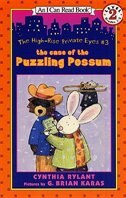 High-rise Private Eyes #3: The Case Of The Puzzling Possum