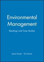Environmental Management: Readings and Case Studies