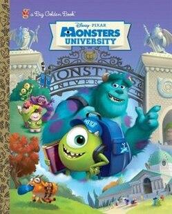 Monsters University Big Golden Book (disney/pixar Monsters University)