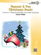 Famous And Fun Christmas Duets, Bk 1: 7 Duets For One Piano, Four Hands