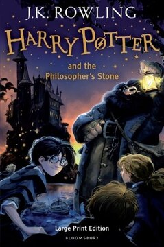 Harry Potter and the Philosopher&#39;s Stone: Large Print