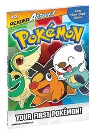 Dk Readers Pokemon Reader Active Your First Pokemon
