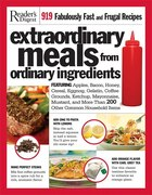 RD EXTRAORDINARY MEALS FROM ORDINARY ING