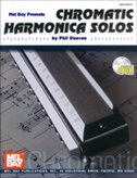 Chromatic Harmonica Solos  Book/CD Set
