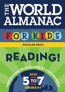 World Almanac For Kids Puzzler Deck: Reading: Ages 5-7, Grades K-1