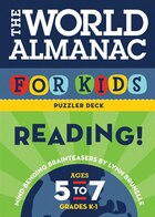 The World Almanac for Kids Puzzler Deck Reading!: Ages 5-7, Grades K-1