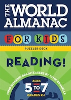 World Almanac For Kids Puzzler Deck: Reading: Ages 5-7, Grades K-1