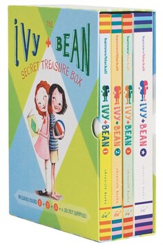 Ivy and Bean Treasure Box: Includes Book 1, Book 2, Book 3 and a Cool Secret Surprise!