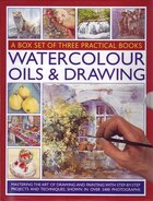 Watercolour Oil Drawing A Box Set Of