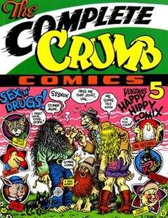 The Complete Crumb Comics Vol. 5: Happy Hippie Comix