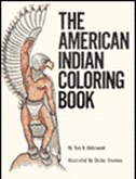 The American Indian: Coloring Book