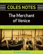 Coles Notes Total Study Edition Merchant of Venice