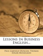 Lessons In Business English...
