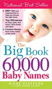 Big Book of 60,000 Baby Names