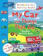 My Car And Things That Go Sticker Activity Book