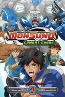 Monsuno Combat Chaos, Vol. 1: The Moto Mutants: The Moto Mutants