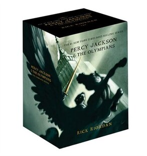 Percy Jackson pbk 5-book boxed set