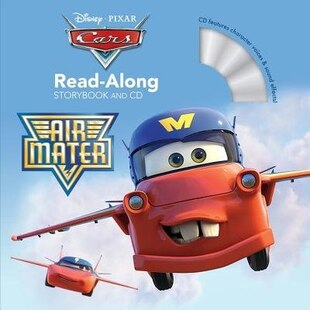 Cars Toons Air Mater Read-along Storybook And Cd