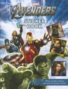 The Avengers Reusable Sticker Book