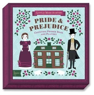 BabyLit Pride and Prejudice Counting Primer Board Book and Playset