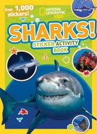 National Geographic Kids Sharks Sticker Activity Book: Over 1,000 Stickers!