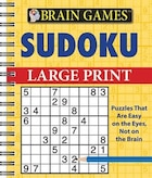 Brain Games Sudoku Large Print