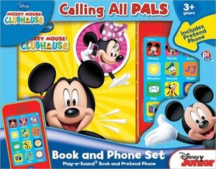 BK & PHONE SET MICKEY MOUSE CLUB HOU