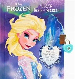 Frozen Bk Of Secrets Elsa