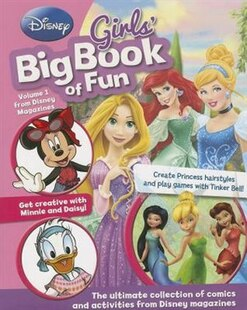 DISNEY GIRLS BIG BK OF FUN